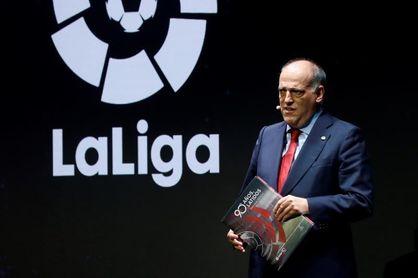 """Tebas, sobre el Clásico: """"El 18 de diciembre no puede ser, hay Copa del Rey"""""""