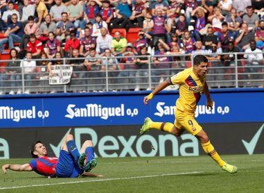 Barça, del noveno puesto al liderato en nueve jornadas