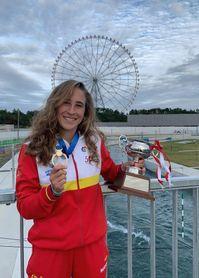 Nuria Villarrubla gana la Copa NHK en el estreno del canal olímpico de Tokio