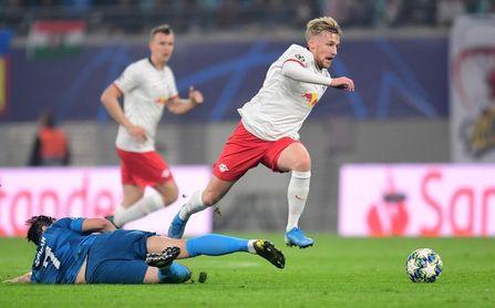 2-1. Sabitzer acerca al Leipzig a octavos