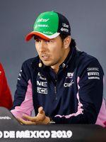 """""""Checo"""" Pérez dice que protesta contra Renault fue para cuidar a Racing Point"""