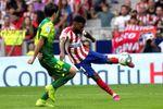 Lemar, en el once del Atlético; Yuri y Córdoba, titulares en el Athletic