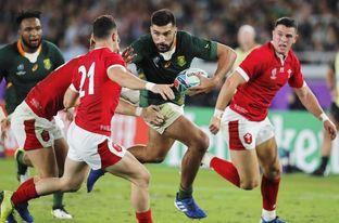 16-19. Sudáfrica jugará la final al vencer a Gales en reñido partido
