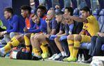 Luis Suárez se lesiona en el sóleo y es seria duda para jugar ante el Slavia