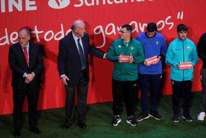 """Del Bosque: ?El poder de integración y educación del fútbol es enorme"""""""