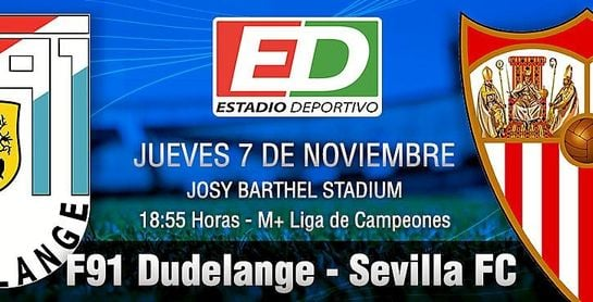 Fútbol/Liga Europa.- Ficha técnica del Dudelange - Sevilla, 2-5