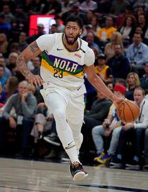 95-80. Davis y James lideran el triunfo de los Lakers