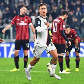 Dybala da el liderato al Juventus y frustra al Milan