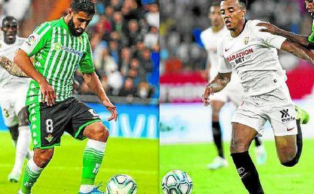 Fekir y Koundé son los futbolistas con más valor de mercado de sus respectivas plantillas de cara al derbi.