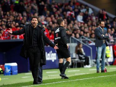"""Simeone: """"Hemos mejorado en la regularidad"""""""