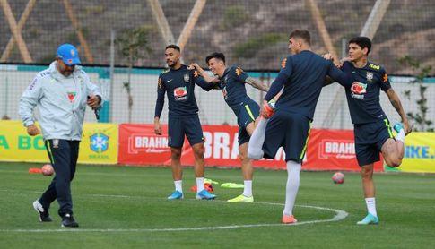 """El técnico sub'23 de Brasil elogia el """"potencial"""" del madridista Rodrygo Goes"""
