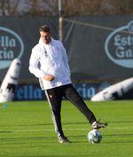 El temporal obliga a Óscar García a suspender el entrenamiento del Celta
