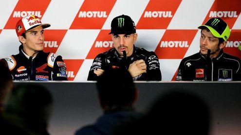 Los grandes de Moto GP destacan el talento y el carácter campeón de Lorenzo