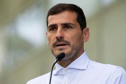 Iker Casillas apura su vuelta a la portería en el gimnasio del Oporto