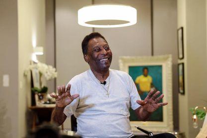 Pelé reta a Cristiano a romper su récord de goles y bendice a Rodrygo