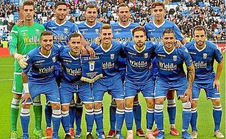 El Melilla quiere medirse con el Betis en la Copa.