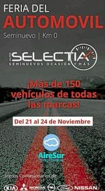 El cartel de la Feria del Automóvil Autoselectia.