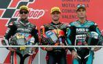 Binder sentencia el subcampeonato de Moto2 con una victoria, Á. Márquez se va al suelo
