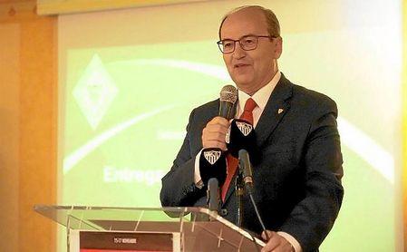 José Castro, durante el XIV Encuentro de Peñas en Torrox.