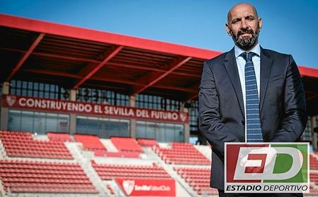 Monchi posa para ESTADIO Deportivo.