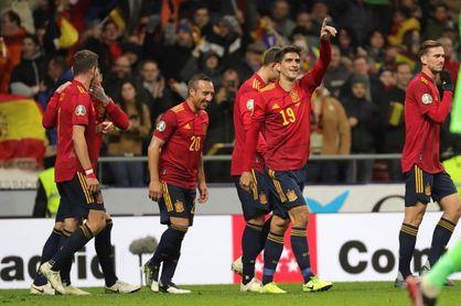 5-0. España despega hacia la Eurocopa