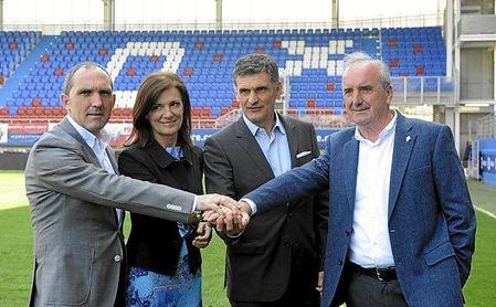 Garagarza, director deportivo del Eibar, acaba contrato el próximo 30 de junio.