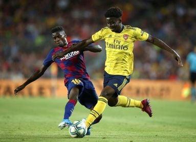 Wagué debuta en partido liguero y Junior será el lateral izquierdo