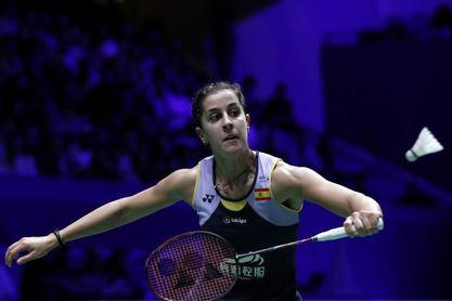Carolina Marín vence en su regreso a la India tras su grave lesión