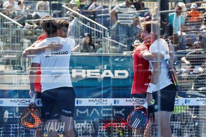 Los españoles Lebrón y Navarro se clasifican a la final del México Open de Padel