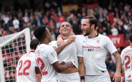 """Diego Carlos: """"Estoy contento de jugar en el Sevilla"""""""