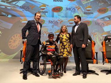 Isidre Esteve afronta el Dakar con aspiración de quedar entre los 15 mejores