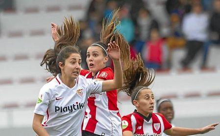 El Sevilla Femenino afronta el reto de sacar al positivo de Lezama.