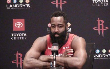110-116. Harden logra 55 puntos en victoria de los Rockets