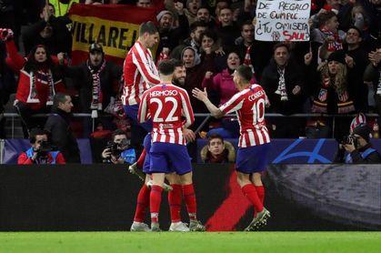 El Atlético de Madrid cumple y el Atalanta firma una proeza