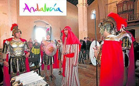 Los belenes más especiales de todos son los belenes vivientes, representados por vecinos anónimos de los municipios andaluces.