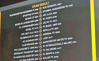 Emparejamiento de los dieciseisavos de final de la Europa League, Sevilla-Cluj.
