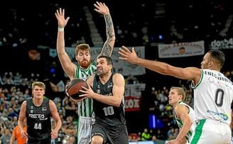 Bilbao Basket 75-69 Real Betis: Turrón amargo en Miribilla.