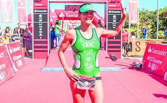 La triatleta sevillana María Pujol recordó su paso por el Cross de Itálica.