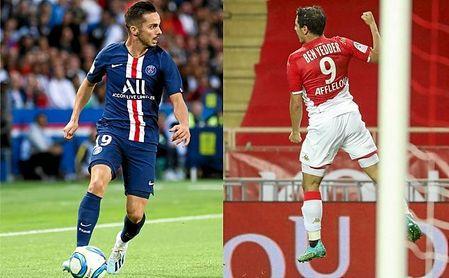 Sarabia y Ben Yeddrer triunfan en el París Saint-Germain y el AS Monaco, respectivamente.