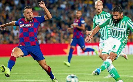 El Betis recibirá al Barcelona.