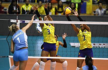 1-3. Argentina aguanta el embiste de Colombia, le remonta y clasifica a Tokio
