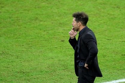 """Simeone: """"Nuestra frustración fue suya y su entusiasmo nuestro entusiasmo"""""""