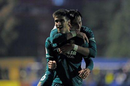 1-2. Gerard Moreno da el pase al Villarreal en el m.117