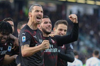 Ibrahimovic vuelve a marcar en la Serie A 7 años y 250 días después