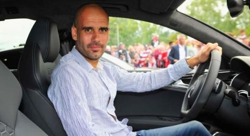 Guardiola ha roto cuatro coches de lujo en su etapa en el City