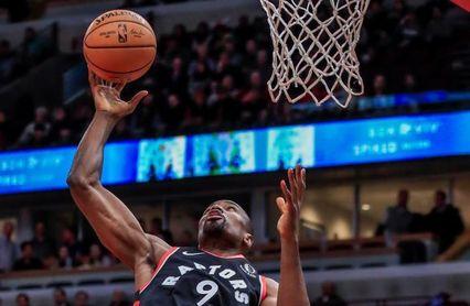 Ibaka entra al libro de marcas de los Raptors; Rubio ayuda al triunfo de los Suns
