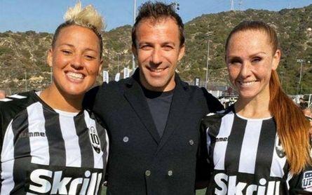 El ex delantero italiano es propietario de un club de Los Ángeles.