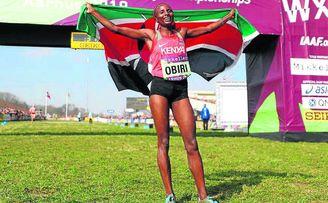 La atleta keniana Hellen Obiri, vencedora del reciente Cross Internacional Memorial Muguerza de Elgoibar, estará en Itálica.