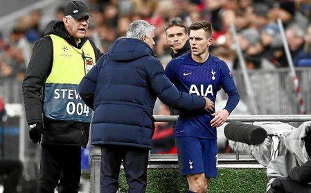 Mourinho confirma que el Tottenham ejecutará la opción de compra por Lo Celso.
