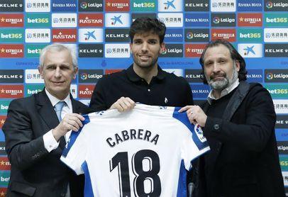 """Cabrera: """"Acepté venir sin temor porque creo en este club"""""""